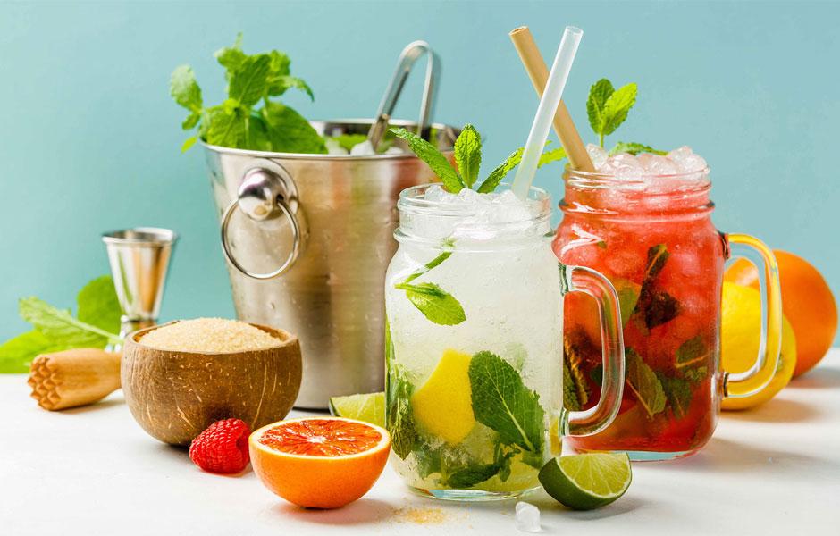 Coole Drinks für heiße Sommertage
