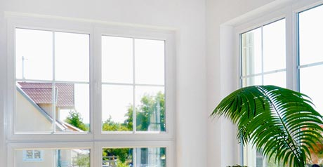 Extra schmale Fensterrahmen