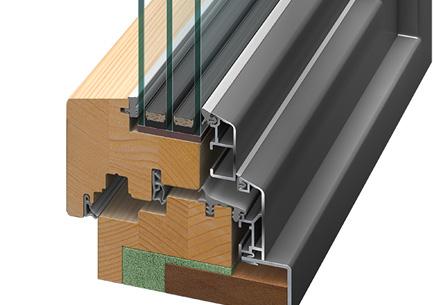 Pflegeleichtigkeit Holz-Alu-Fenster