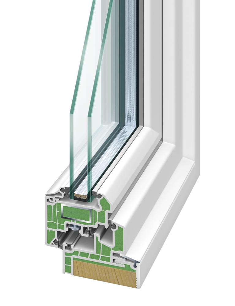 perfecta Rahmen Kunststofffenster