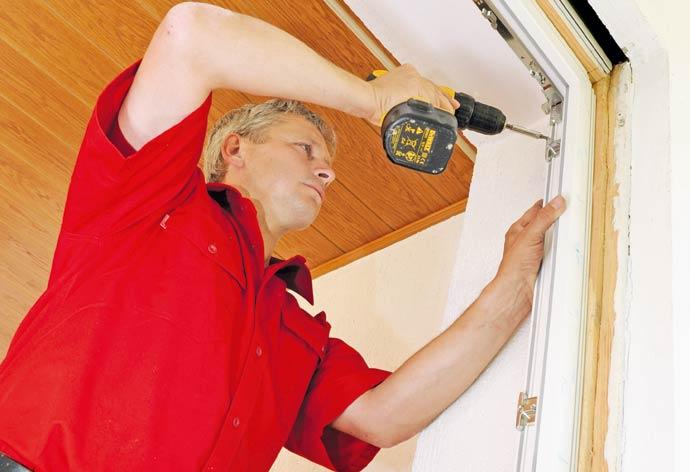 Fensterwechsel ohne Dreck - Verschrauben