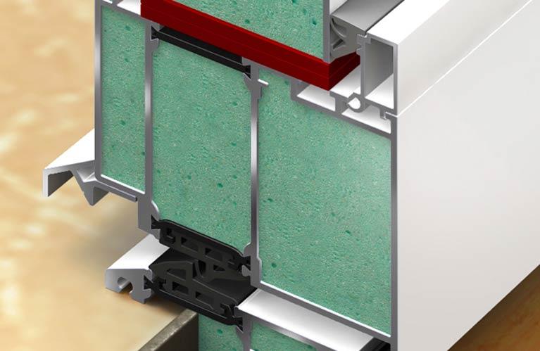 Schallschutz Haustüren Mehrkammerprofil