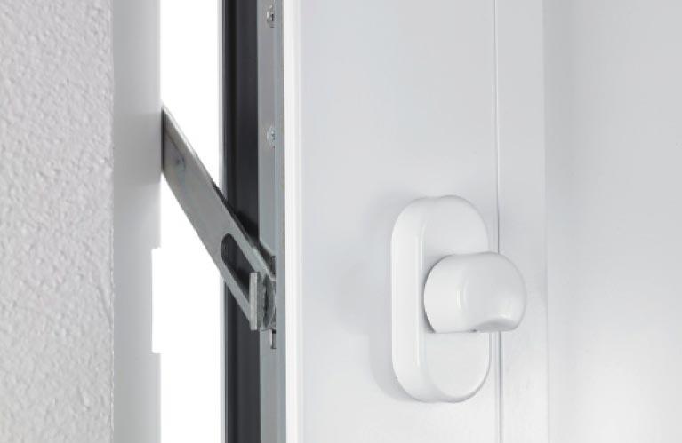 Sicherheit Haustüren Sperrbügel