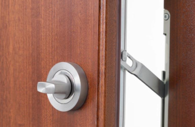 Wohnungseingangstüren Sperrbügel Sicherheit