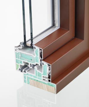 Kunststoff/Alu-Fenster