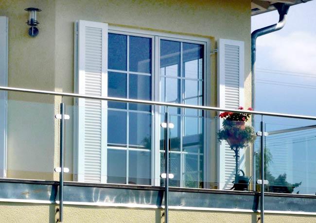 Balkon/Terrassentüren richtig schön praktisch