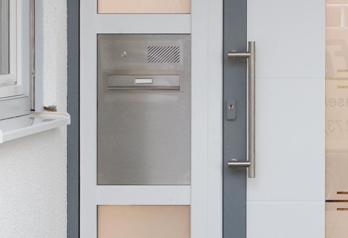 Haustüren Zubehör Briefkasten