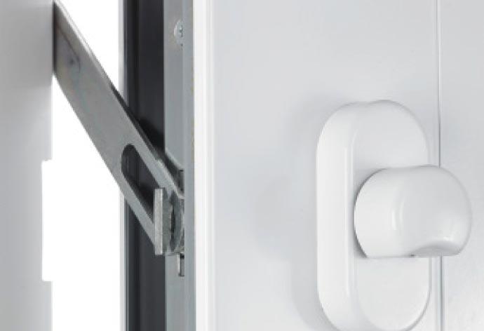 Zubehör für perfecta Haustüren: Sperrbügel