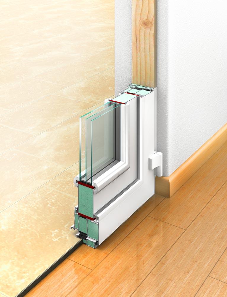 Der Haustür-Rahmen der Perfecta-Haustür: Beste Wärmedämmung, Formstabilität, Sicherheit, Schallschutz und Pflegeleichtigkeit – 30 Jahre Garantie auf jeden Qualitätsrahmen