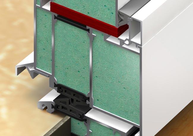 Energiespar-Rahmen der perfecta-Haustür: Der Rahmen ist das stabile, starke und dauerhafte Fundament für die gesamte Haustüre. Mit diesem Wissen haben wir unseren Energiespar-Rahmen aus Aluminium entwickelt.