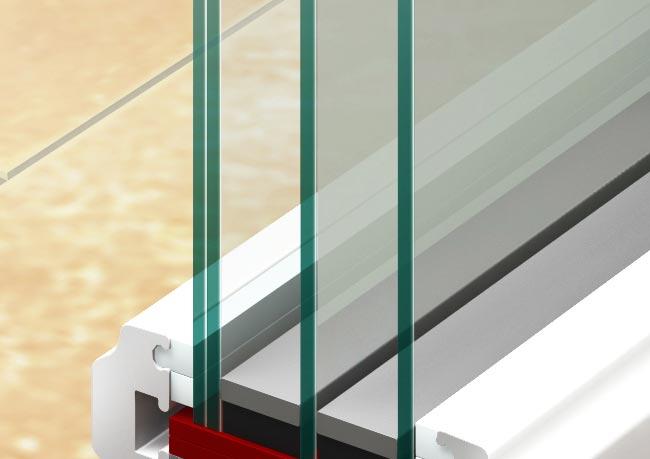 Verbund-Sicherheits-Verglasung: Unsere Haustür-Verglasungen sorgen nicht nur für Durchblick, sondern auch für Sicherheit. Das liegt an der Verbund-Sicherheits-Verglasung, die bei jedem Haustürmodell integriert ist.