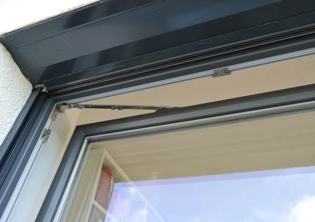 perfecta Lüftungsvarianten Kunststoff-Alu-Fenster