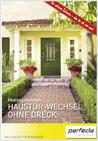 Broschüre Haustürwechsel ohne Dreck