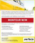 Stellenanzeige Montuer W/M
