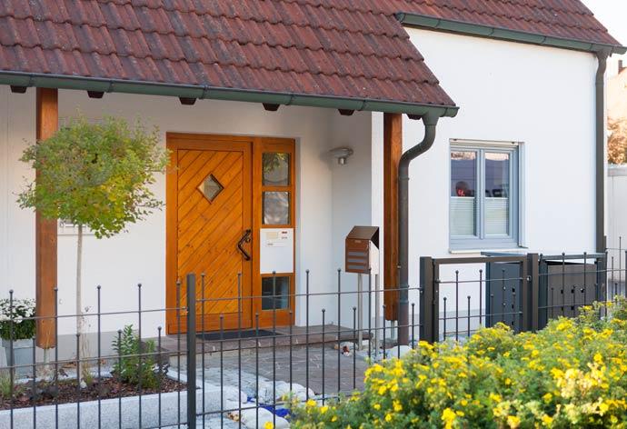 perfecta Haustürwechsel ohne Dreck - Eingangsbereich