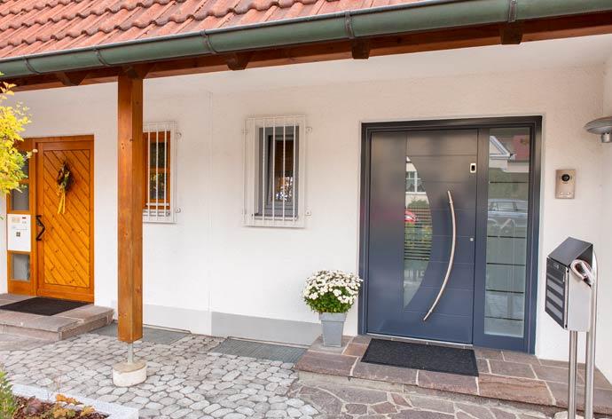perfecta Haustürwechsel ohne Dreck - Neue Ansicht