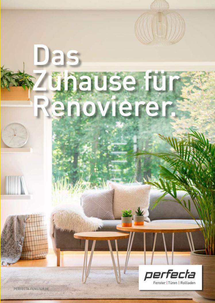 Broschüre Fenster