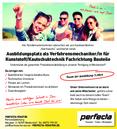 Ausbildungsplatz als Verfahrensmechaniker/in für Kunststoff/Kautschuktechnik Fachrichtung Bauteile
